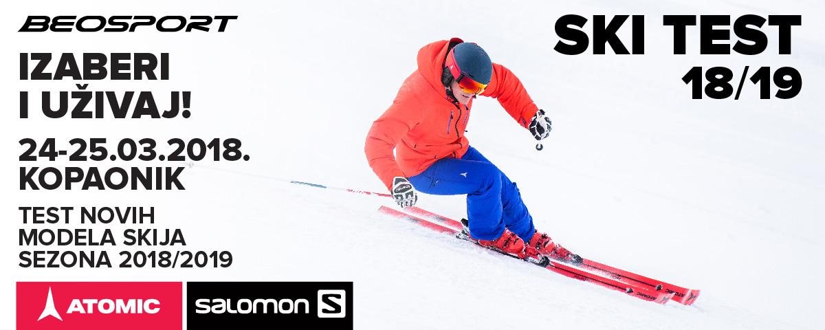 Ski test na kopaoniku sa Beosportom