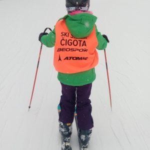 Trening ski škole Čigota