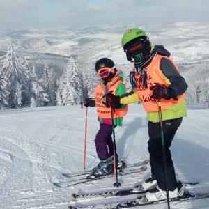 Učnenici ski škole Čigota