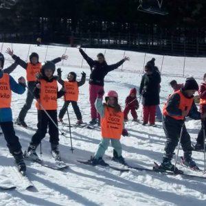 Polaznici ski škole Čigota